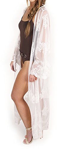 Nude Lace Cover-Up