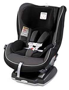 Peg Perego Convertible Premium Infant to Toddler Car Seat, Black