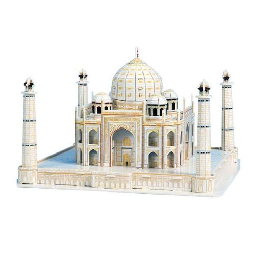 Dimart 3D Puzzle Jigsaw Indian Taj Mahal 87 Pieces DIY Assemble Educational Toy - 1