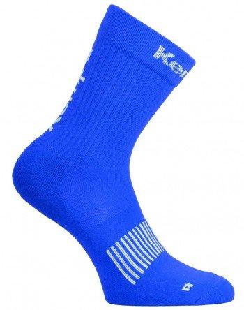 Kempa Teamsport abbigliamento Logo Classic calze, Unisex, Bekleidung teamsport logo classic socken, Royal/bianco, 41-45