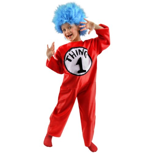 Thing 1, 2, 3 or 4 Costume - Medium