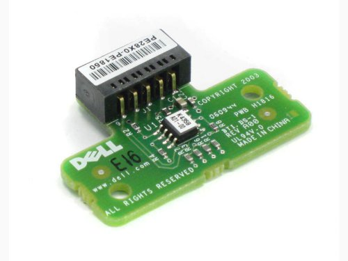 Dell PE28X0-PE1850 10-Pin RAID Key Card for a