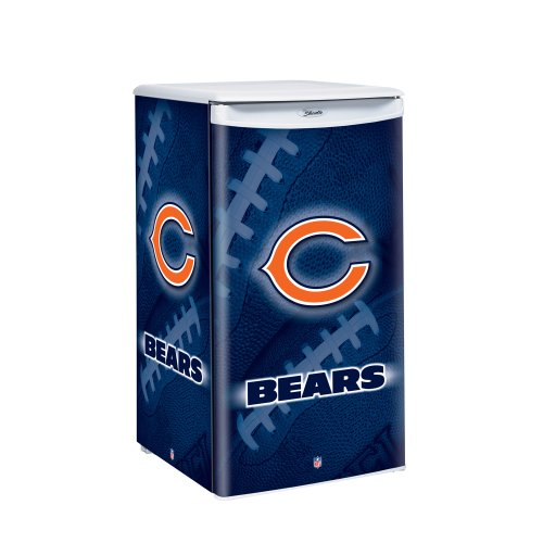 Nfl Chicago Bears Counter Top Refrigerator front-548244
