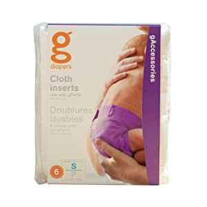 Gnappies Gcloth Inserts 6-pack - Newborn/small