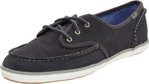 Keds Women's Skipper Suede Graphite Casual Lace Ups WH39222 6 UK