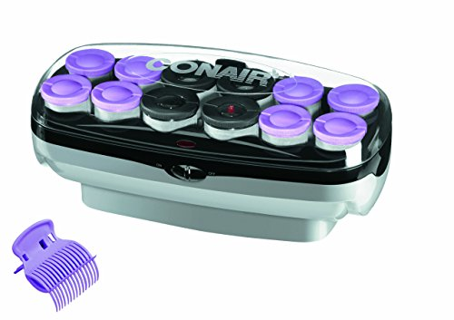 Conair Xtreme Instant Heat Jumbo And Super Jumbo Hot Rollers, Amazon Exclusive, Bonus Super Clips Included (Conair Hot Roller Clips compare prices)