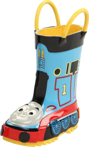 Western Chief Thomas The Tank Engine Rain Boot (Toddler/Little Kid/Big Kid),Blue,5 M Us Toddler front-957117