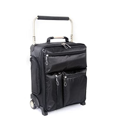 Worlds Lightest Sub 0 G Mobile Office/Laptop Trolley Case by Bags Etc and Domo