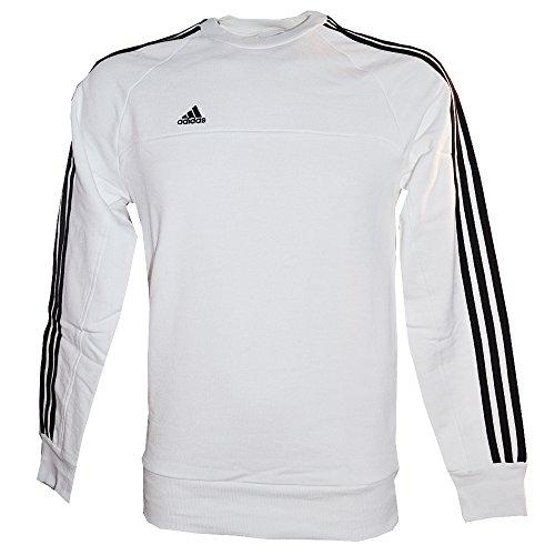 Adidas Felpa Performance Caf AH6803, colore: bianco e nero, unisex, bianco, S