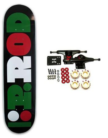 PLAN B Complete Skateboard LTD Paul Rodriguez 7.75
