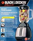 41OOdCfF65L. SL160  Black & Decker 7 Speed Professional Series Blender   Black