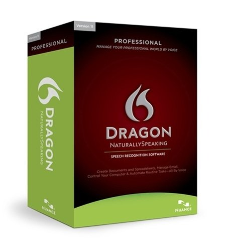Nuance A209S-X00-12.0 Dragon Naturallyspeaking Professional Speech Recognition Software With Microphone - Spanish