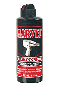 Marvel MM080R Air Tool Oil - 4 oz.