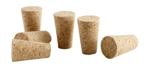 Global amici replacement cork bottle stoppers set of 6 for Wine cork replacement