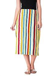 Myrah Women's Staright Fit Skirt