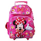 Minnie Mouse 16 Large Rolling Backpack