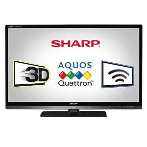 Sharp Quattron LC40LE835U 40-Inch 1080p 3D LED LCD TV -Black