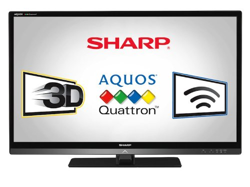 Sharp LC40LE835U Quattron 40-inch 1080p 240 Hz 3D LED-LCD HDTV, Black (Tv Led 3d Sharp compare prices)