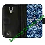 NFL Dallas Cowboys logo Samsung Galaxy S4/S IV Card Wallet Cases great for a Christmas gifts by hiphonecases