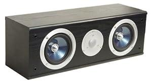 Pure Acoustics Center-Lautsprecher XTI 100 C schwarz