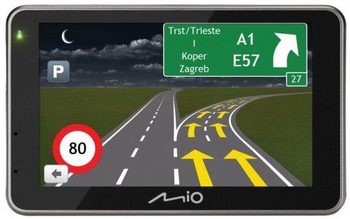 MIO-Spirit-6900-EU-Navigationssystem-5-Zoll-Displaystarrer-Monitor-169Kontinent