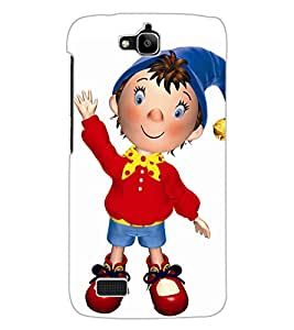 ColourCraft Cartoon Design Back Case Cover for HUAWEI HONOR HOLLY