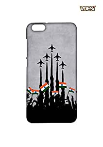 VDESI Matte case for Huawei Honor 4x - Planes_Flags (Gry)