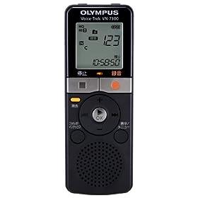OLYMPUS ICレコーダー Voice-Trek VN-7300 ブラック 2GB かんたんメモ録 VN-7300