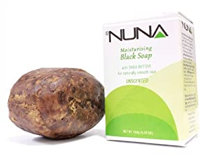 Coastal Scents Nuna Black Soap, Unscented, 5.29 Ounce