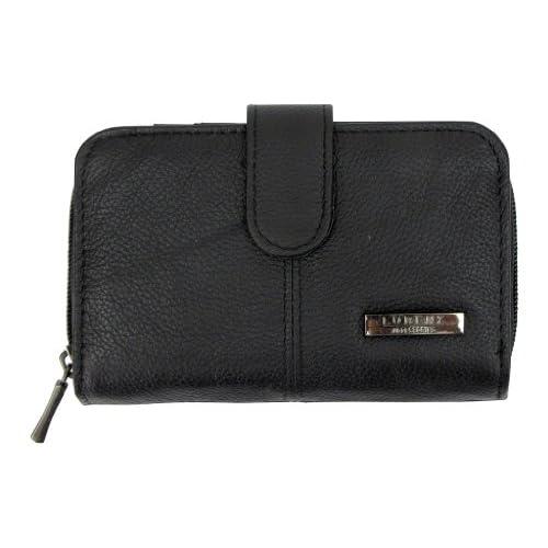 Lorenz Ladies Leather Purse  Wallet Zip Around - Colours
