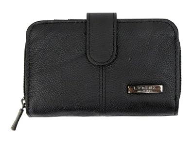 Lorenz Ladies Leather Purse/ Wallet Zip Around - Colours