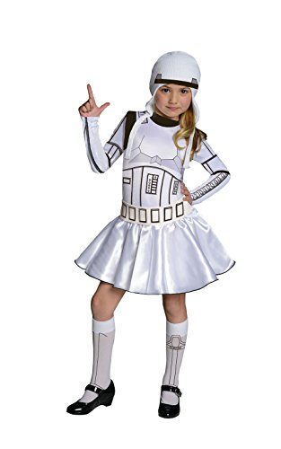 Star Wars Storm Trooper Costume Dress, Large