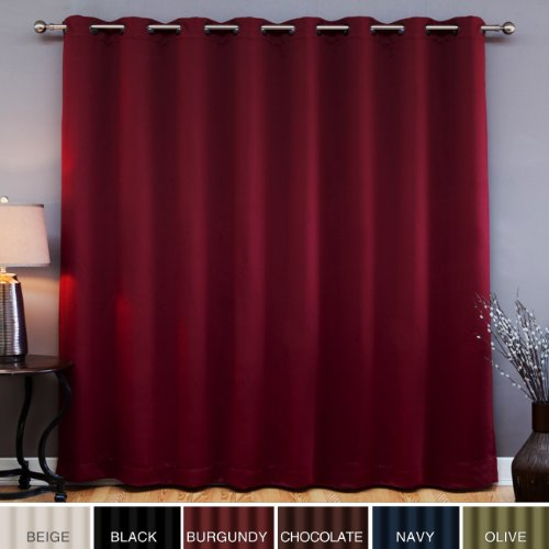 Curtains for large sliding glass door ~ Decorate our home with ...