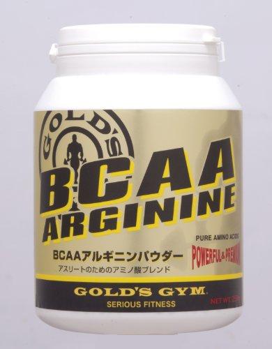GOLD'S GYM BCAAアルギニンパウダー250g