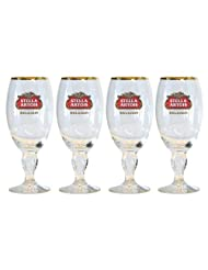 Stella Artois 4-Pack Chalice Glass, 33cl by Stella Artois