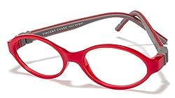 Vincent Chase Flex VC 8030 Red Grey C2 Kids' Eyeglasses (Kids 6-10 yrs)