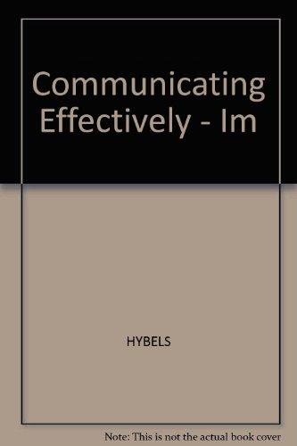 Communicating Effectively - Im