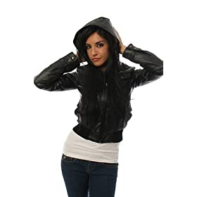 Obey The Phoenix City Hooded Bomber,Light Jackets for Women