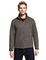 Blue Harbour Heritage Zip Through Fleece Top