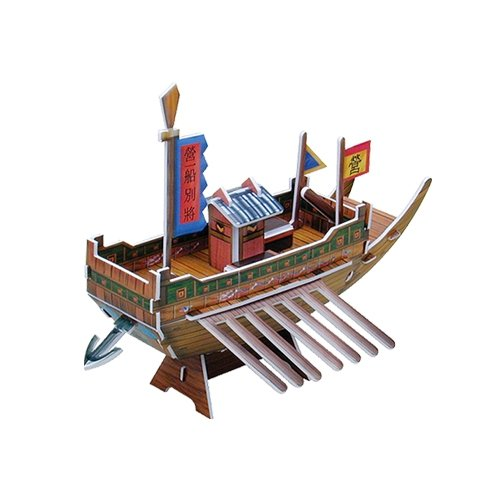 Jigsaw 3D Puzzle Transportation Series - Panok Ship (Small) - 1