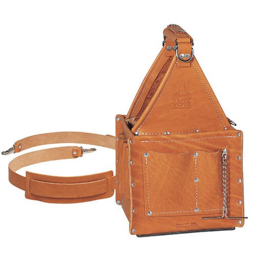 Images for Ideal Industries Tuff-Tote Premium Leather Ultimate Tool Carrier with Shoulder Strap
