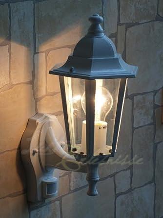 Design Debout Lampe éclairage Stand Jardin Cour Eclairage en acier inoxydable argent Cour Chemin