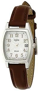 [セイコー]SEIKO 腕時計 ingene アンジェーヌ ソーラー カーブハードレックス 日常生活用強化防水(10気圧) 革バンド トノー型 AHJD077 レディース