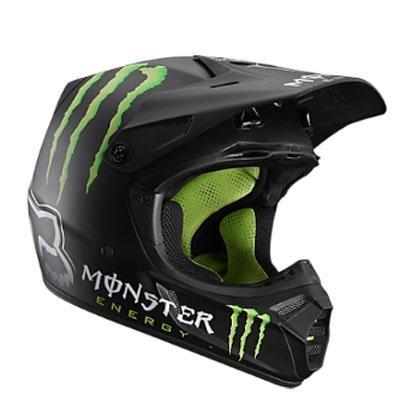 Buy Low Price V3 RC Monster Replica Helmet 2012 (B004FKODRC)