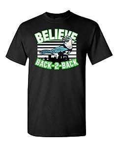 Believe Seattle Football Fan Wear DT Adult T-Shirt Tee
