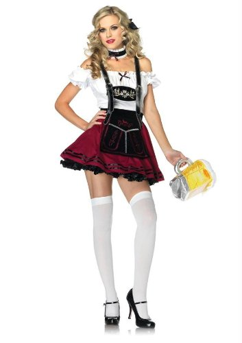 Costumes For All Occasions Ua83847Lg Beer Stein Beauty Bur/Bk Lg