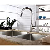 Kraus KPF-1622CH Single Lever Pull Out Kitchen Faucet, Chrome