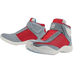 Icon Tarmac 2 Men's Leather/Mesh Street Racing Motorcycle Boots - Red