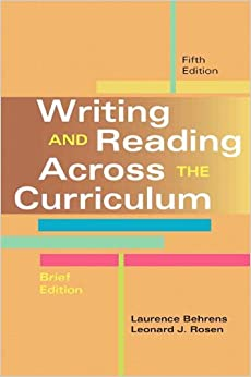 writing across the curriculum chemistry lab reports Writing across the curriculum: sciencefix in the northern nevada writing project's writing across the to be broader than the traditional lab report.