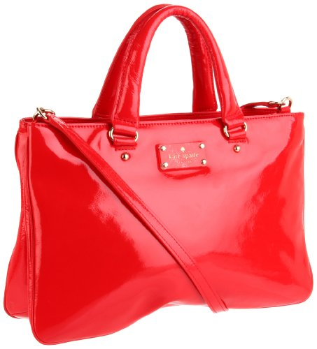Kate Spade New York  Fanfare Brette Satchel,Scarlet,One Size